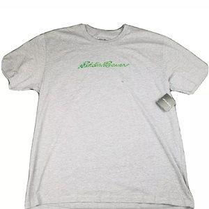Nwt Eddie Bauer T Shirt Optic Mountian Mens Large